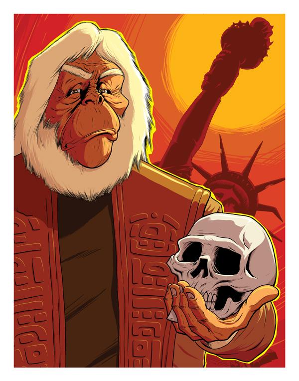 Dr. Zaius by Gavin de Lint